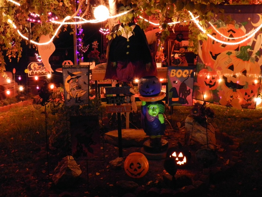 with halloween fast approaching st george residents prepare to greet the trick or treaters hanging halloween decorations continues to be a popular - The Tradition Of Halloween