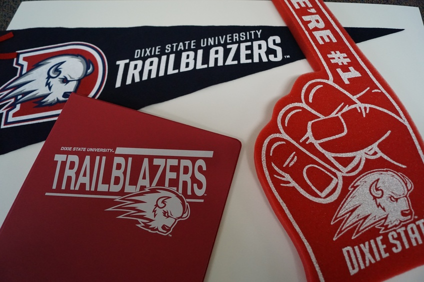 Dixie State University  Love Communication, the firm that organized the launching of the 2016 Trailblazer identity is a finalist for the Public Relations Society of America's Silver Anvil Award.