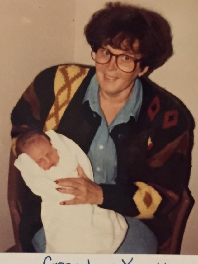 Beaux and his grandma Yenchik.