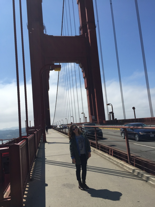 Opinion Editor Emma van Lent took a year off to live in San Francisco after graduating high school. Courtesy of van Lent.
