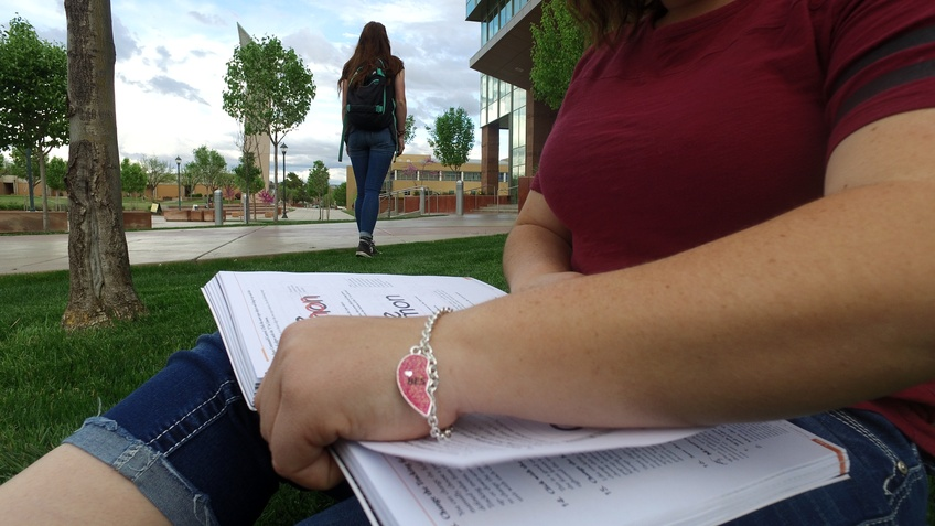 Maintaining friendships during college grows more and more difficult through a busy schedule and job commitments. Photo by Alexis Winward